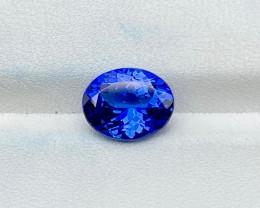 Natural Tanzanite 2.80 cts Violet Blue Color