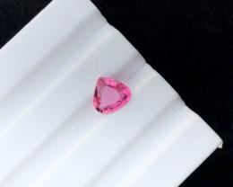 2.85 carats Rubellite Tourmaline Heart shape Gemstone