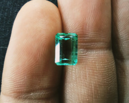 Untreated  Colombian Emerald from Muzo 1.73 cts