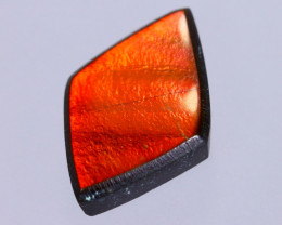16x11mm,  5.42cts Natural Canadian Ammolite Stone / MA1722