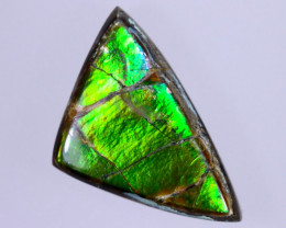 15x9mm,  4.94cts Natural Canadian Ammolite Stone / MA1749