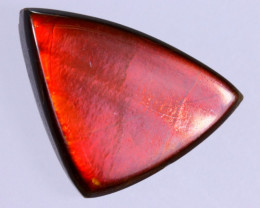 16x11mm,  6.40cts Natural Canadian Ammolite Stone / MA1750