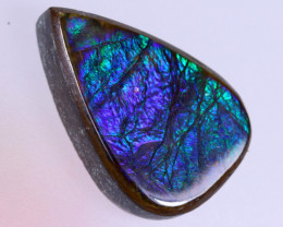 16x10mm,  6.89cts Natural Canadian Ammolite Stone / MA1752