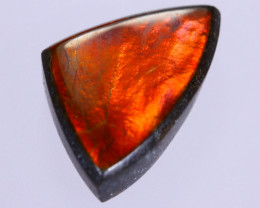 14x9mm,  4.41cts Natural Canadian Ammolite Stone / MA1754