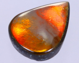 14x11mm,  4.73cts Natural Canadian Ammolite Stone / MA1755