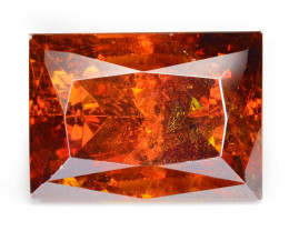 Sphalerite 20.55 Cts Marvelous Natural Rare Top Rich Fired Sunset Red
