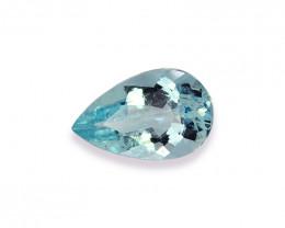1.98 Cts Stunning Lustrous Natural Aquamarine
