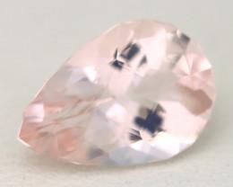 2.11Ct Natural Peach Pink Morganite VVS Pink Beryl Madagascar C1919