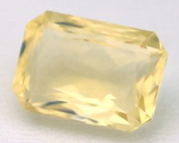 3.61Ct Natural Ethiopian Octagon Cut Interesting Crystal Fire Opal C1923