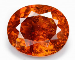 Sphalerite 6.96 Cts Marvelous Natural Rare Top Rich Fired Sunset Red