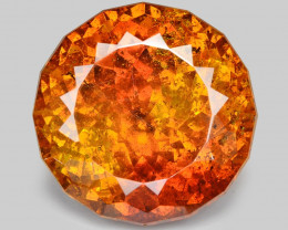 Sphalerite 19.54 Cts Marvelous Natural Rare Top Rich Fired Sunset Red