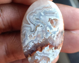 Natural Crazy Lace Agate Cabochon Gemstone VA5826