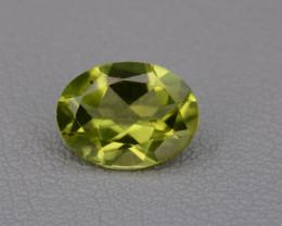 Natural Peridot 1.19  cts, Top Quality Gemstone