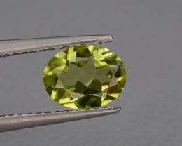Natural Peridot 1.20  cts, Top Quality Gemstone