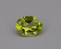 Natural Peridot 1.21  cts, Top Quality Gemstone