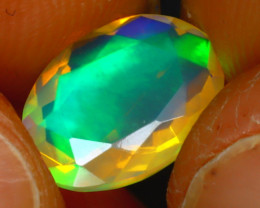 Welo Opal 1.22Ct Natural Ethiopian Play of Color Opal D2018/A44