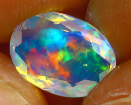 Welo Opal 1.27Ct Natural Ethiopian Play of Color Opal D2020/A44
