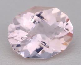 2.85Ct Morganite VVS Sweet Pink Beryl Color Natural Madagascar C1936