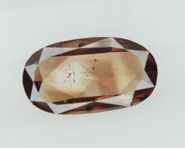 0.42 cts , Transparent Diamond , Fancy Elongated Oval Diamond