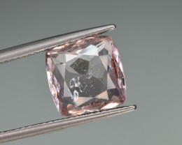Natural Imperial Topaz 4.53 Cts Faceted Gemstone from Katlang, Pakistan