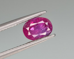 Natural Ruby 1.27 Cts Top Quality from Afghanistan