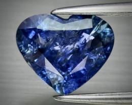 1.95ct UNHEATED Blue Sapphire  8.72x7.31mm