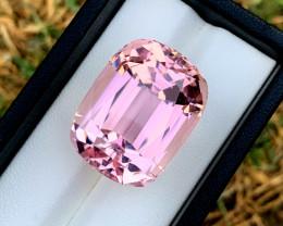 67.85 Carats Pink Color Kunzite Gemstone