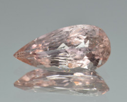 Natural Imperial Topaz 5.15 Cts Faceted Gemstone from Katlang, Pakistan