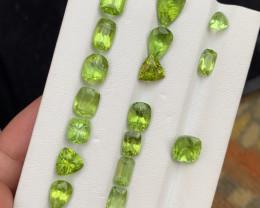 40.4 carats Amazing color Peridot Gemstone from pakistan