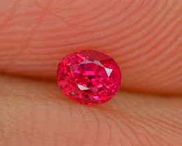 0.22Carat Burmese Red Ruby Cut Gemstone(No Heat)