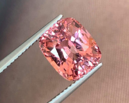 4.91 ct Luc Yen Padparadscha spinel.  Very flashy!