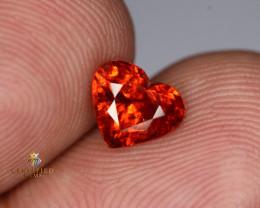 Exceptional Heart shape Natural Spessartite Garnet