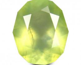 Prehnite 2.48 Cts Green Signature Geo Cut BGC2147