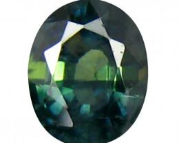 Sapphire 0.62 Cts Green step cut BGC2108
