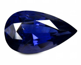 Iolite 4.27 Cts Violet Antique Step Cut BGC1938
