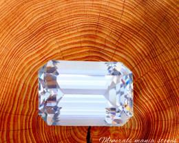 30.70 Carat One Of best Fancy Cut Kunzite Gemstone