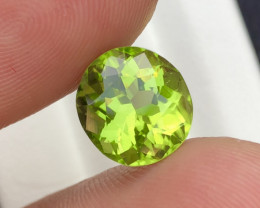 Top Color 3.90 Ct Natural Himalayan Peridot
