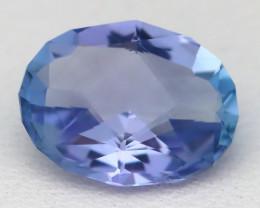 1.85Ct VVS Master Oval Cut Natural Vivid Purplish Blue Tanzanite A2014