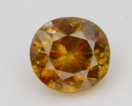 Rare AAA Astonishing Fire 0.65 ct Chrome Sphene.AaQ