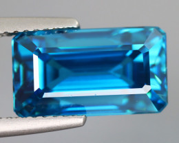 10.65 CT ZIRCON BLUE 100% IF CLEAN NATURAL MINE COMBODIA