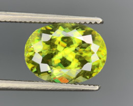 3.87 Cts Full Fire Top Luster Natural  Sphene gemstone