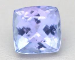 Tanzanite 1.95Ct Octagon Cut Natural Purplish Blue Tanzanite B2114