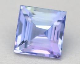 Tanzanite 2.15Ct VVS Square Cut Natural Purplish Blue Tanzanite B2115