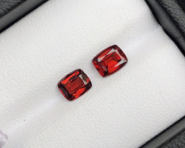 1.60 ct Garnet Pair for Earrings Garnet