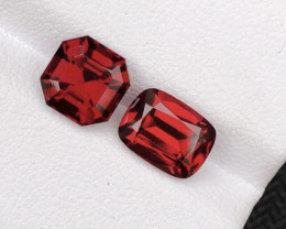 Asscher And Step Cushion Cut 4.85 Ct Malawi Raspberry Pink Umbalite Garnet