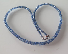 NEW ARRIVAL BLUE TANZANITE NECKLACE   480mm