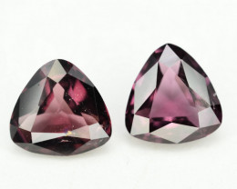 2.55 Ct Gorgeous Color natural Burmese Spinel Pair