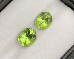 Deer Color 1.80 ct lovely Peridot Ring Size