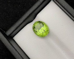 Top Grade 3.50  ct lovely Peridot Ring Size