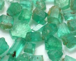 96Ct Natural Emerald Facet Rough Parcel